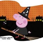 Bandeirinha Sanduiche 2 Peppa Pig Halloween