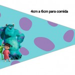 Bandeirinha Sanduiche 3 Monstros SA