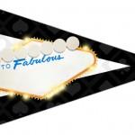 Bandeirinha Sanduiche Kit Festa Las Vegas Poker 5