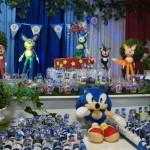 Bandeirinha Varalzinho Festa Sonic do Matheus