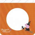 Bandeirinha Varalzinho Peppa Pig Halloween
