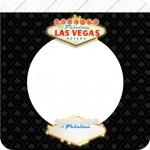 Bandeirinha Varalzinho Quadrado Kit Festa Las Vegas Poker