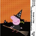 Bisnaga Brigadeiro 15gr Peppa Pig Halloween