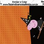 Bisnaga Brigadeiro 30gr Peppa Pig Halloween