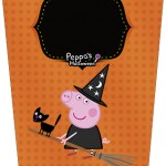 Bisnaga Flip Top Peppa Pig Halloween