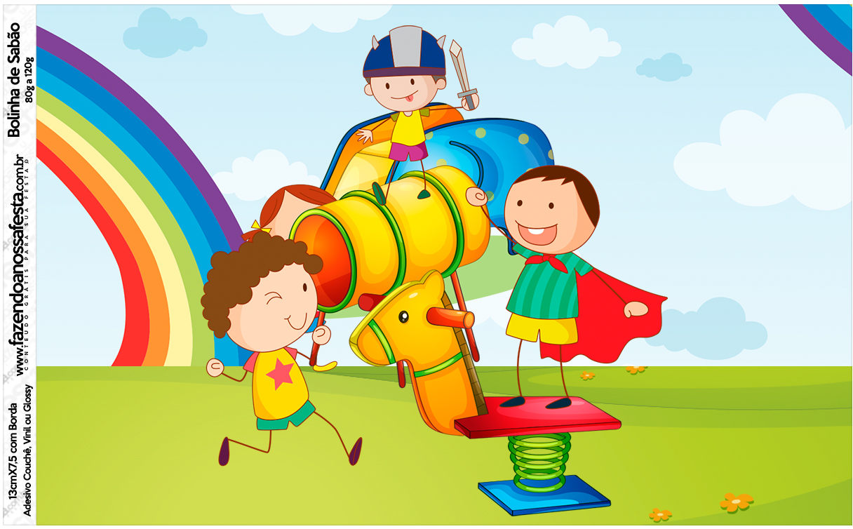 Bolinha de Sabão Dia das Crianças Lembrancinha