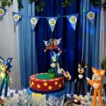 Bolo Festa Sonic do Matheus