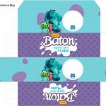 Caixa Baton Monstros SA