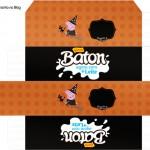 Caixa Baton Peppa Pig Halloween