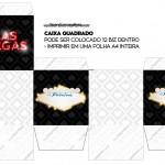 Caixa Bis Kit Festa Las Vegas Poker