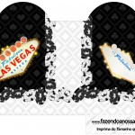 Caixa Coração Kit Festa Las Vegas Poker