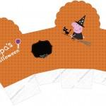 Caixa Cupcake 2 Peppa Pig Halloween