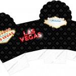 Caixa Cupcake Kit Festa Las Vegas Poker