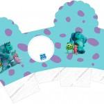 Caixa Cupcake Monstros SA