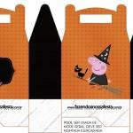Caixa Lembrancinha Peppa Pig Halloween