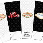 Caixa Pipoca Kit Festa Las Vegas Poker