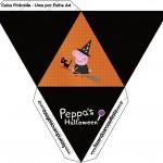 Caixa Pirâmide Peppa Pig Halloween