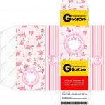 Caixa Remédio Coroa de Princesa Rosa Floral