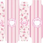 Caixa Sabonete Coroa de Princesa Rosa Floral