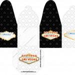 Caixa com Foto Kit Festa Las Vegas Poker