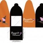 Caixa com Foto Peppa Pig Halloween