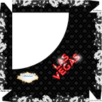 Caixa de Bombom Kit Festa Las Vegas Poker - Parte de cima