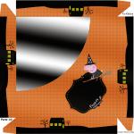 Caixa de Bombom Peppa Pig Halloween - Parte de cima