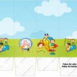 Caixa de Leite Dia das Crianças Lembrancinha