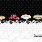 Caixa de Leite Kit Festa Las Vegas Poker