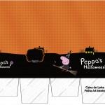 Caixa de Leite Peppa Pig Halloween