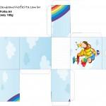 Caixa de Tubete Dia das Crianças Lembrancinha