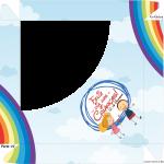 Caixa de bombom Dia das Crianças - parte de cima Lembrancinha