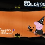 Capa Revista Colorindo Peppa Pig Halloween