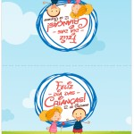 Cartão Agradecimento Dia das Crianças Lembrancinha