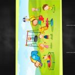 Cartão Chalkboard Dia das Crianças