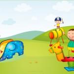 Cartão de Presente para Dia das Crianças