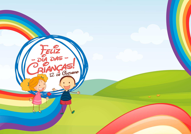 Cartão para Lembrancinha Dia das Crianças