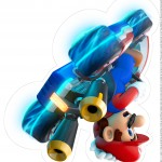 Centro de Mesa Mario Kart 2 2 3