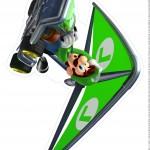 Centro de Mesa Mario Kart Luigi 1 2