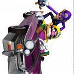 Centro de Mesa Mario Kart Wario 1 2