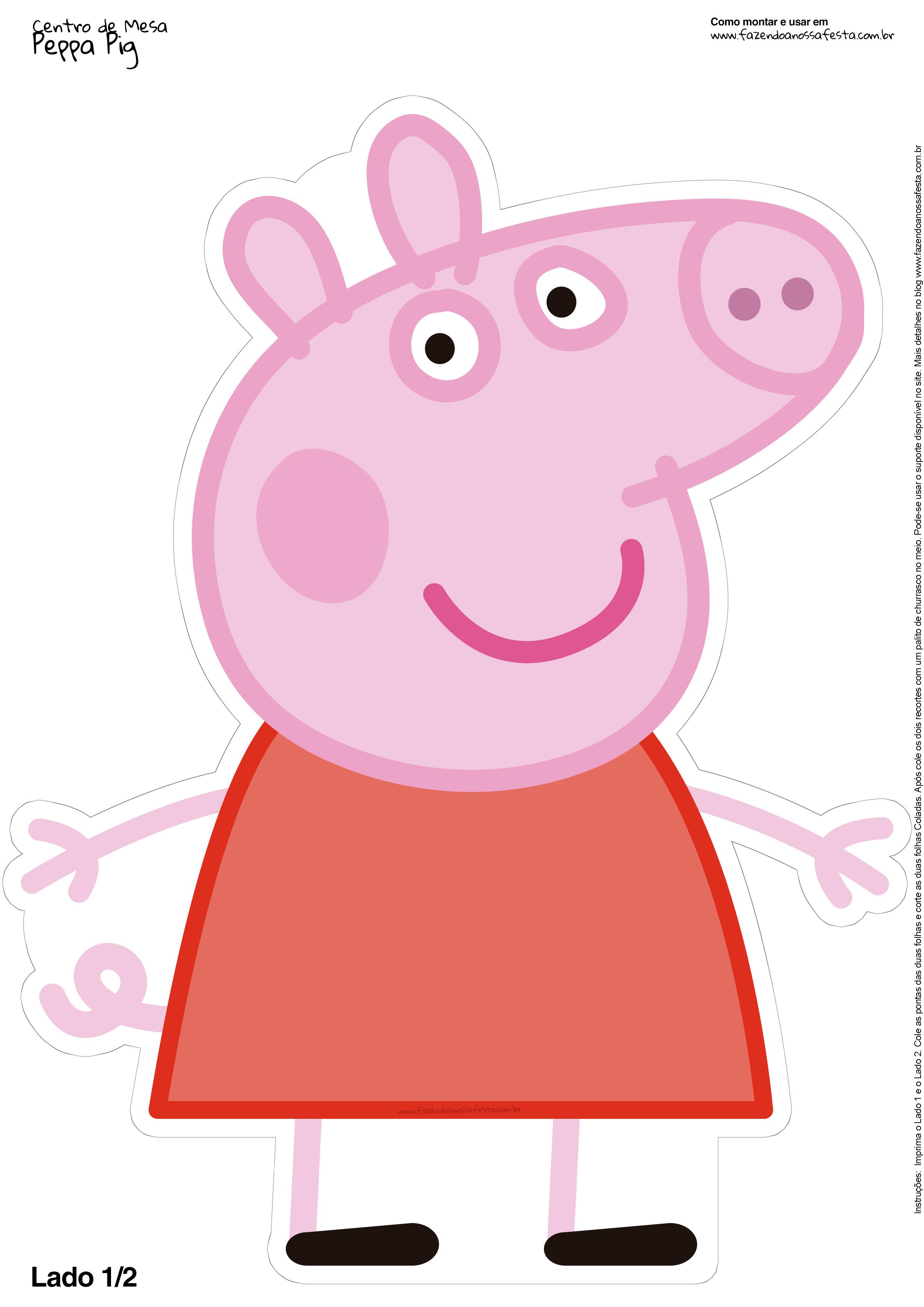 Porta-retrato da Peppa Pig