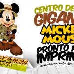 Centro de Mesa Mickey Safari – Grátis para Imprimir