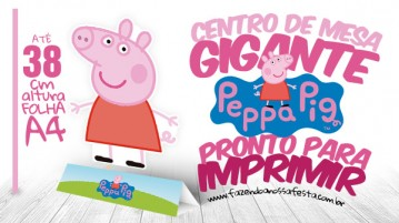 Centro de Mesa Toten Display Peppa Pig