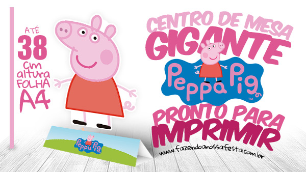 Centro de Mesa Toten Display Peppa Pig