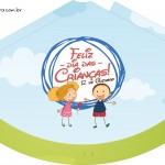 Chápeu de Festa Dia das Crianças Lembrancinha