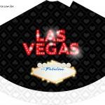 Chapeuzinho de festa Kit Festa Las Vegas Poker
