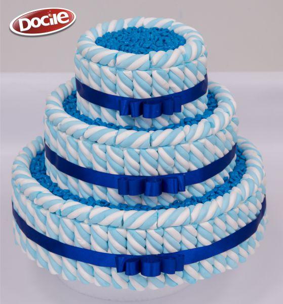 Como fazer bolo fake com Marshmallow
