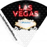 Cone Guloseimas Kit Festa Las Vegas Poker