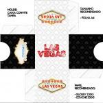 Convite Caixa Tampa Kit Festa Las Vegas Poker
