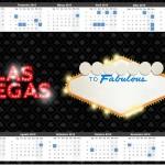 Convite Calendário 2015 2 Kit Festa Las Vegas Poker